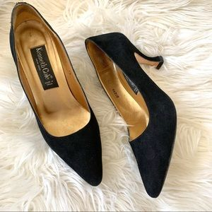 Vintage Kenneth Cole suede Pointed toe heels
